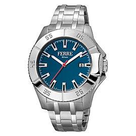Ferre Milano D. Blue Silver SS FM1G085M0061 Watch