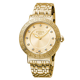 Ferre Milano Gold Gold Stainless Steel FM1L041M0181 Watch