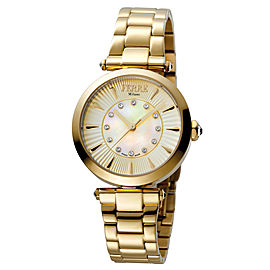Ferre Milano Gold Gold Stainless Steel FM1L075M0021 Watch