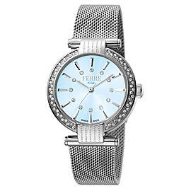 Ferre Milano L. Blue Silver Mesh SSMESH FM1L096M0051 Watch