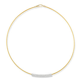 I.Reiss 14K Yellow Gold 0.44 Diamond Necklace