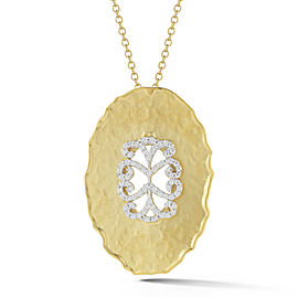 I.Reiss Matte-finished Filigree Pendant