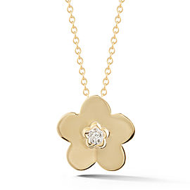 I.Reiss Polish-finished Daisy Pendant