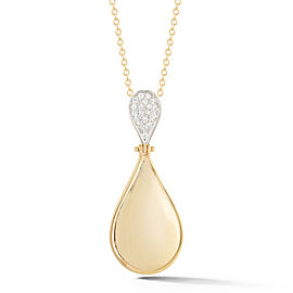 I.Reiss Polish-finished Tear-Drop Pendant