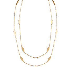 I.Reiss 14K Yellow Gold 0.18 Diamond Necklace
