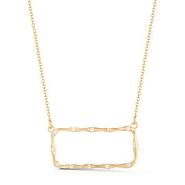 I.Reiss 14K Yellow Gold 0.22 Diamond Necklace