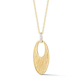 I.Reiss 14K Yellow Gold 0.04 Diamond Necklace
