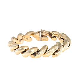 14K Yellow Gold San Marco Link Bracelet