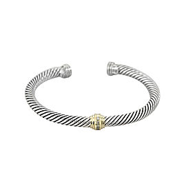 David Yurman Cable Classic Single station With Diamonds 5MM