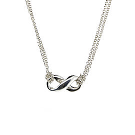 Tiffany & Co. Infinity Figure Eight Pendant Necklace