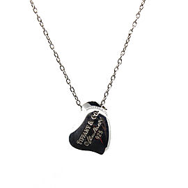 Tiffany & Co. Full Heart Pendant Necklace