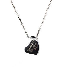 Tiffany & Co. Full Heart Pendant Necklace