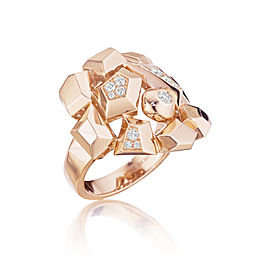 18K Gold Jackson Mini Diamond Cluster Ring