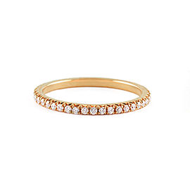 Jado Crown Sunshine Diamond Eternity Ring 18k Yellow Gold Diamonds Ring
