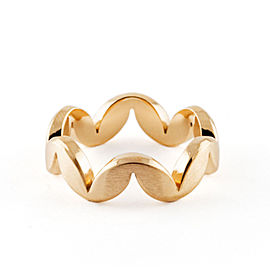 Jado Crown Muse Sunshine 18k Yellow Gold Ring