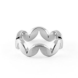 Jado Crown Muse Luminosity 18k White Gold Ring