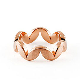 Jado Crown Muse Rose Provence 18k Rose Gold Ring
