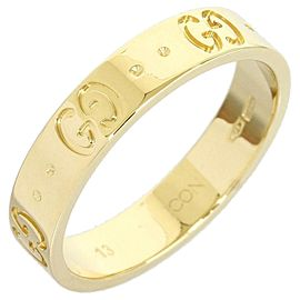 Gucci 18K Yellow Gold Icon Ring