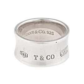 Tiffany & Co. Sterling Silver 1837 Ring Size 9