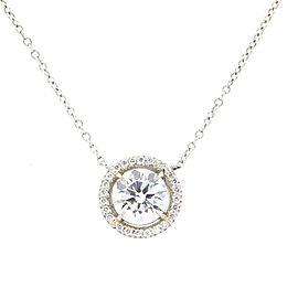 Tiffany and Co Diamond Pendant