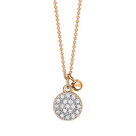 Mini Diamond Ever Disc On Chain