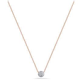 Rose Gold Lauren Joy Mini Necklace