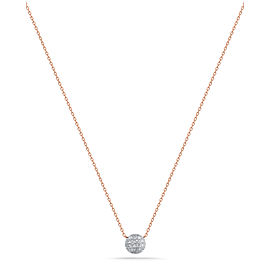 Rose Gold Lauren Joy Mini Necklace