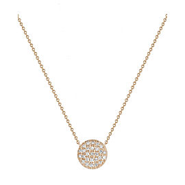 Rose Gold Lauren Joy Medium Necklace
