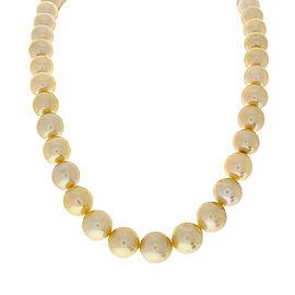 Cream Color Pearl Necklace