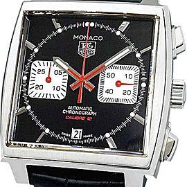 Tag Heuer Monaco Racing Chronograph Calibre12 CAW2114.FC6177 Mens Watch