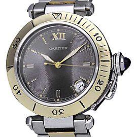 Cartier Pasha 35 W31016N1 Mens Watch