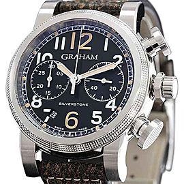 Graham Silverstone Vintage 2SABS.B05A 44mm Mens Watch