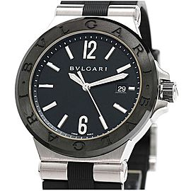 Bvlgari Diagono Ceramic DG42SC 42mm Mens Watch