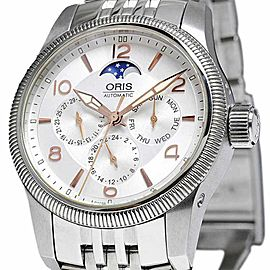 Oris Big Crown Complication Moon Phase 7627-40 40mm Mens Watch