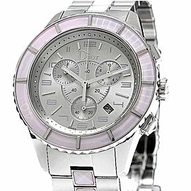 Christian Dior Christal Chronograph CD114314 39mm Unisex Watch