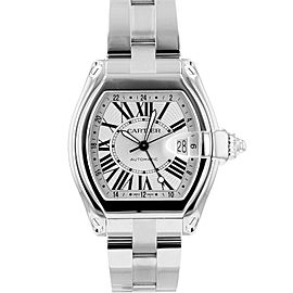 Cartier Roadster Gmt Lm W62032X6 47mm/42mm Mens Watch