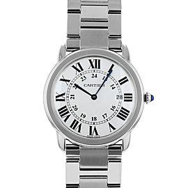 Cartier Ronde Solo Watch Large Model W6701005 39mm/36mm Mens Watch