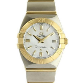 Omega Constellation Double Eagle 1381.7 24mm Womens Watch