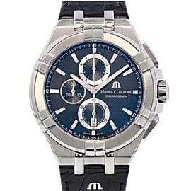 Maurice Lacroix Aikon Chronograph AI1018-SS001-330-1 44mm Mens Watch