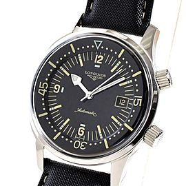 Longines Legend Diver Date L3.674.4.50.0 42mm Mens Watch