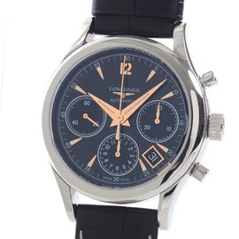 Longines Heritage Column Wheel Chronograph L2.742.4.56.0 39mm Mens Watch