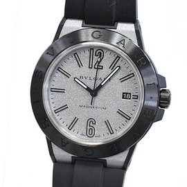 Bulgari Diagono Magnesium DG41SMC 40mm Mens Watch