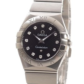 Omega Constellation Brushed 123.10.24.60.51.001 25mm Mens Watch