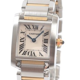 Cartier Tank Francaise SM W51007Q4 20mm Mens Watch