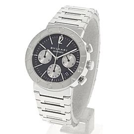 Bvlgari Bulgari Bulgari Chrono Bb38ssch 38mm Mens Watch