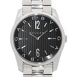 Bulgari Solo Tempo ST42S 42mm Mens Watch
