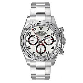 Rolex Pre-Owned White Gold Daytona 116509 Grey Racing 40mm Men's Watch