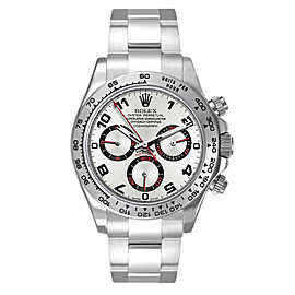 Rolex Pre-Owned White Gold Daytona 116509 Grey Racing