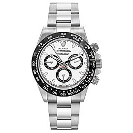 Rolex Daytona 116520 White Dial 40mm Mens Watch