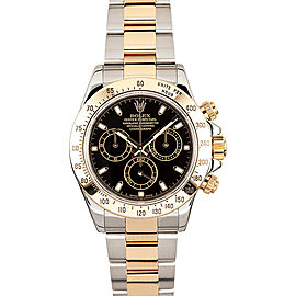 Rolex Daytona 116523 Black Dial 40mm Mens Watch